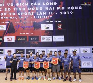 Giải các CLB Đồng Nai mở rộng - Tranh cup YD năm 2019: Thử sức nơi biển lớn