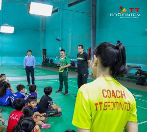 HLV đội tuyển cầu lông Indonesia đến thăm và giao lưu tại Trung tâm Huấn luyện Cầu lông TT Badminton