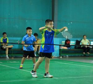 Tuyển Trẻ TT Badminton  thi đấu giao hữu với tuyển Trẻ quận Thủ Đức