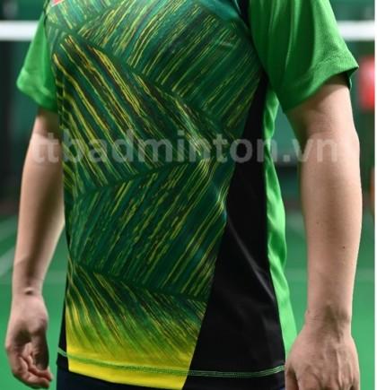 Áo cầu lông TT Badminton xanh lá - Nữ