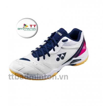 Giày cầu lông Yonex (Nhật) SHB 66Z - trắng hồng