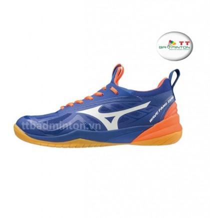 Giày cầu lông Mizuno (Nhật) Wave Fang Zero - Xanh