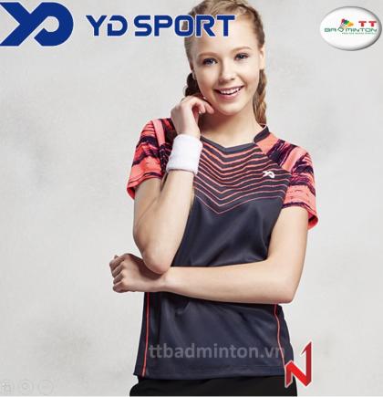 Ao thi đấu YD TS1634BK-Nữ