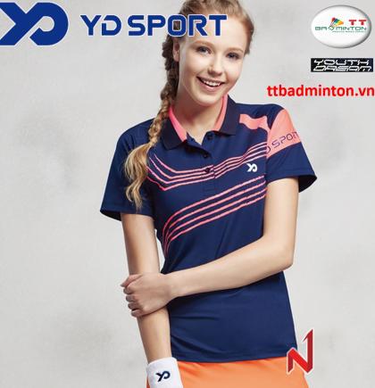 Áo thi đấu YD TS1638NB-Nữ