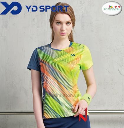 Áo thi đấu YD TS1728GN-Nữ