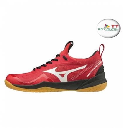 Giày cầu lông Mizuno (Nhật) Wave Fang Zero - Đỏ