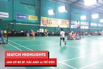 Highlights JWS 2021 (Tháng 1) | BS U9 Bán kết: Lê Hải Anh vs Nguyễn Minh Trí Đức