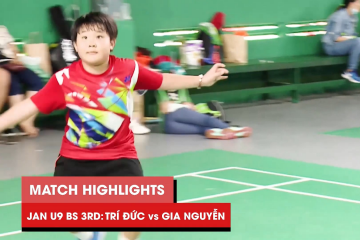 Highlights JWS 2021 (Tháng 1) | BS U9 Tranh hạng Ba: Nguyễn Minh Trí Đức vs Phạm Gia Nguyễn