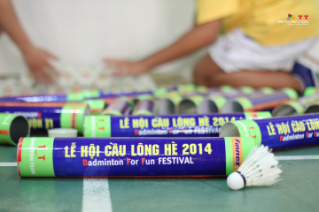 Lễ hội cầu lông Hè BFF Festival lần 1 - Năm 2014