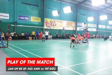 Play of the match | JWS 2021 (Tháng 1) | BS U9 Bán kết: Lê Hải Anh vs Nguyễn Minh Trí Đức