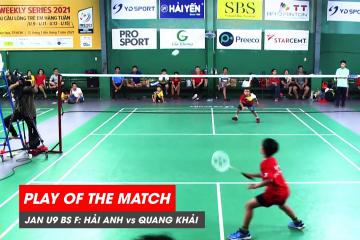 Play of the match | JWS 2021 (Tháng 1) | BS U9 Chung kết: Lê Hải Anh vs Đặng Quang Khải (1)