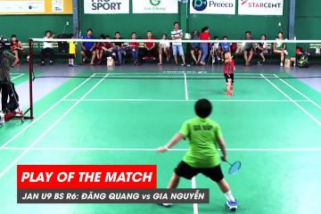 Play of the match JWS 2021 (Tháng 1) BS U9 Vòng 6 (Bảng dưới): Nguyễn Đăng Quang vs Phạm Gia Nguyễn