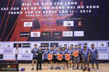 TT Badminton tham gia Giải các CLB Đồng Nai mở rộng - Tranh cup YD năm 2019